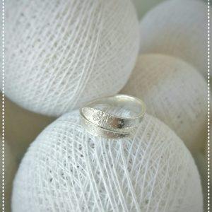 Anillo de plata adptable/Silver ring