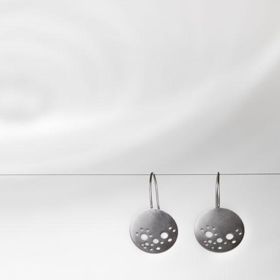 Pendientes de plata @camillebarberonphotpgraphie