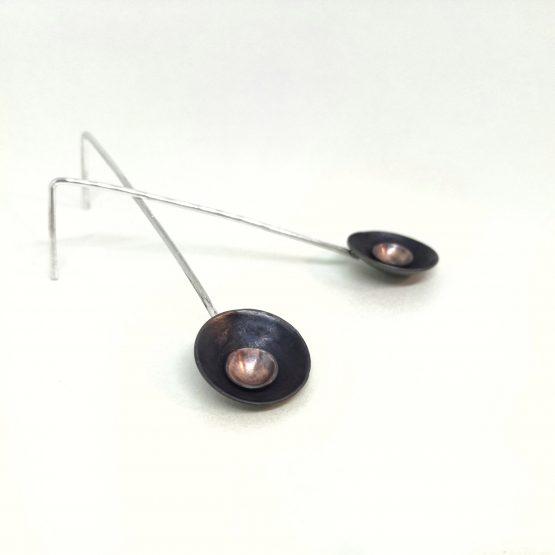 Pendientes cobre orbita